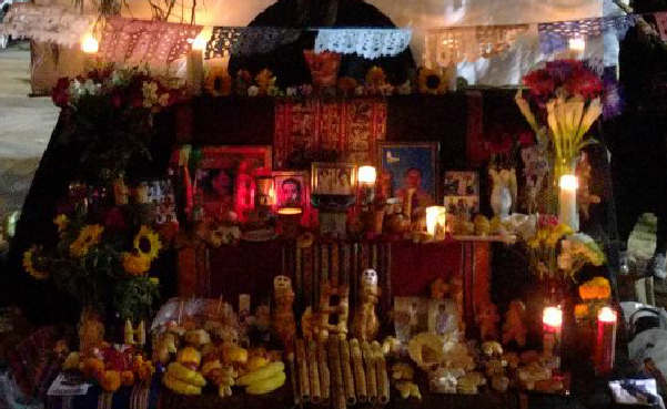 An altar at Day of the Dead / Dia De Los Muertos @ San Francisco